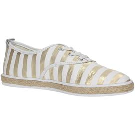 sneakers Guess FLLID2-FAB12 Sneakers Women WHITE/GOLD