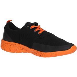sneakers Guess FMJED2 ELE12 Sneakers Men BLACK/ORANGE