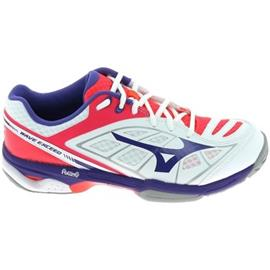 Lage Sneakers Mizuno Wave Exceed CC Blanc