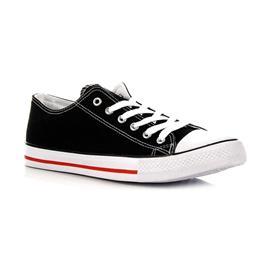 sneakers Wishot Czarne Pó?trampki