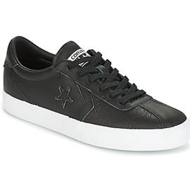 Lage Sneakers Converse BREAKPOINT FOUNDATIONAL LEATHER OX BLACK/BLACK/WHITE