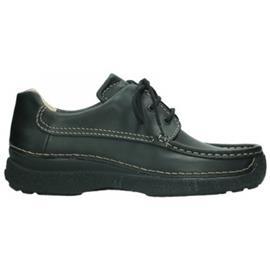 Mocassins Wolky 09201 Roll Shoe Men - 50000 zwart leer
