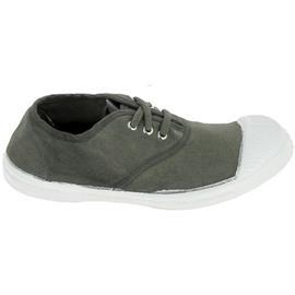 Lage Sneakers Bensimon Toile Lacet C Kaki