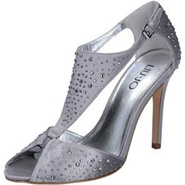 Sandalen Liu Jo sandali argento raso strass BZ123