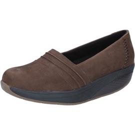 Mocassins Mbt slip on mocassini marrone nabuk performance BY686