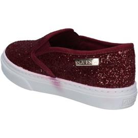 Instappers Guess slip on bordeaux glitter BY944