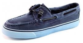 Sperry bootschoenen Bahama 2-eye washed Blauw SPE09