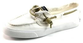 Sperry Bahama washed bootschoenen Wit SPE10