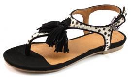 SPM Nantes sandalen Zwart SPM40