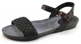 Fred de la Bretoniere 304038 sandalen Zwart FRE02