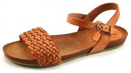 Fred de la Bretoniere 304038 sandalen Cognac FRE03