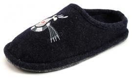 Stoute Schoenen House Shoe pantoffels Blauw HOU01