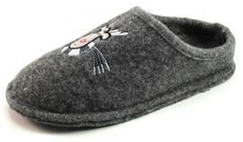 Stoute Schoenen House Shoe pantoffels Grijs HOU02