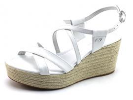 Nero Giardini 17681 sandaal sleehak Wit NER61