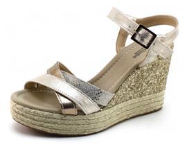 Nero Giardini 17690 sandaal sleehak Beige / Khaki NER64