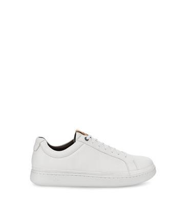 UGG Cali Low Sneaker voor Heren in White, maat 41 | Leder