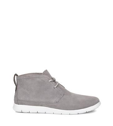 UGG Freamon Sneaker voor Heren in Seal, maat 40.5 | Suede