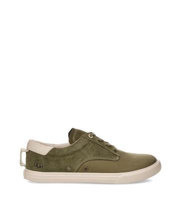 UGG Palm Desert Sneaker voor Heren in Moss Green, maat 39.5 | Suede