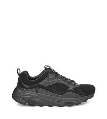 UGG Miwo Low Sneaker voor Heren in Black Tnl, maat 43 | Suede