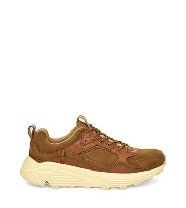 UGG Miwo Low Sneaker voor Heren in Chestnut, maat 42 | Suede