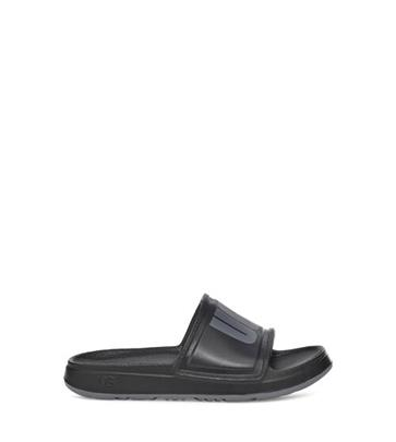 UGG Wilcox Slide Sandalen voor Dames in Black, maat 36 | Synthetisch