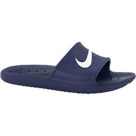 Donkerblauw kawa slide Nike