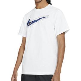 Witte Tee Swoosh - heren Nike