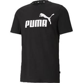 Zwarte Ess Logo Tee - heren Puma