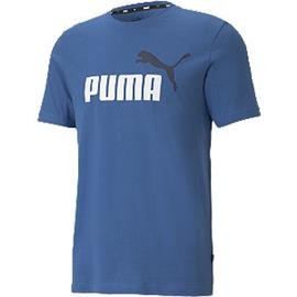 Blauwe Ess Logo Tee - heren Puma
