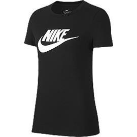 Zwarte Tee Essential Icon - dames Nike
