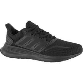 Zwarte Runfalcon adidas