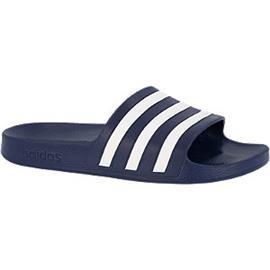 Donkerblauwe Adilette adidas