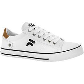 Witte canvas sneaker Fila