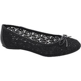 Zwarte ballerina kant Graceland