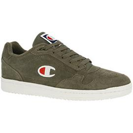 Olijfgroene New York Suede Men Low Champion