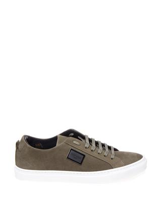 Sneaker - The Black Stripes Suede Grey
