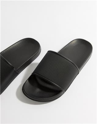 ASOS Design - Slippers in zwart