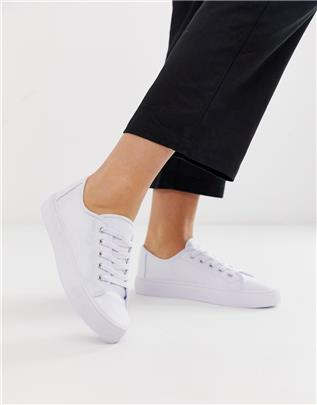 ASOS DESIGN - Dusty - Vetersneakers in wit