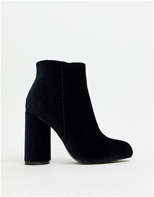 Vero Moda - Laarzen met hak-Zwart