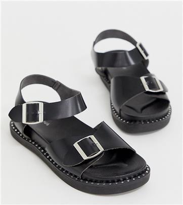 Glamorous - Exclusive - Sportieve sandalen in zwart