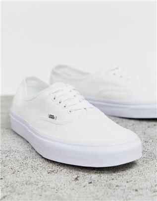 Vans - Authentic - Sneakers in wit