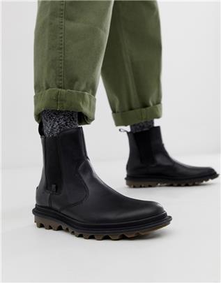 Sorel - Waterbestendige Chelsea laarzen in zwart