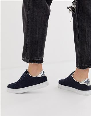 Vero Moda - Sneakers-Marineblauw