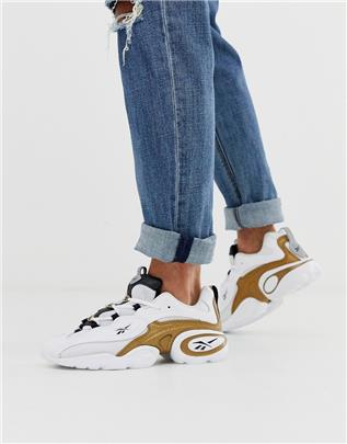 Reebok - electrolyte 97 - Sneakers in witgoud