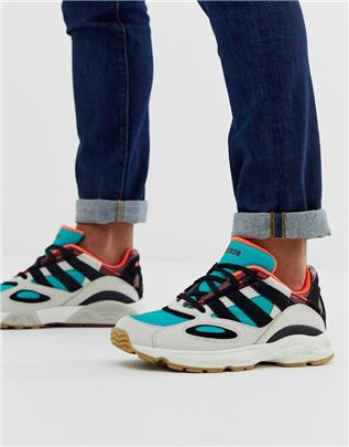 adidas Originals - LXCON 94 - Sneakers in wit