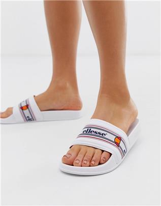 Ellesse - Filippo - Retro slippers in wit