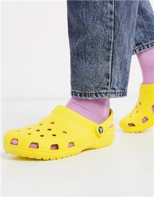 Crocs - Klassieke Crocs schoenen in geel