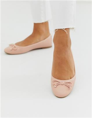 New Look - Ballerina's in roze-Neutraal
