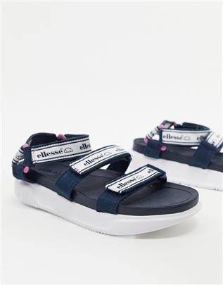 Ellesse - Denso - Sportieve sandalen met logo in marineblauw