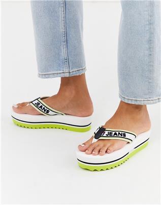 Tommy Jeans - Summer - Platte sandalen-Wit